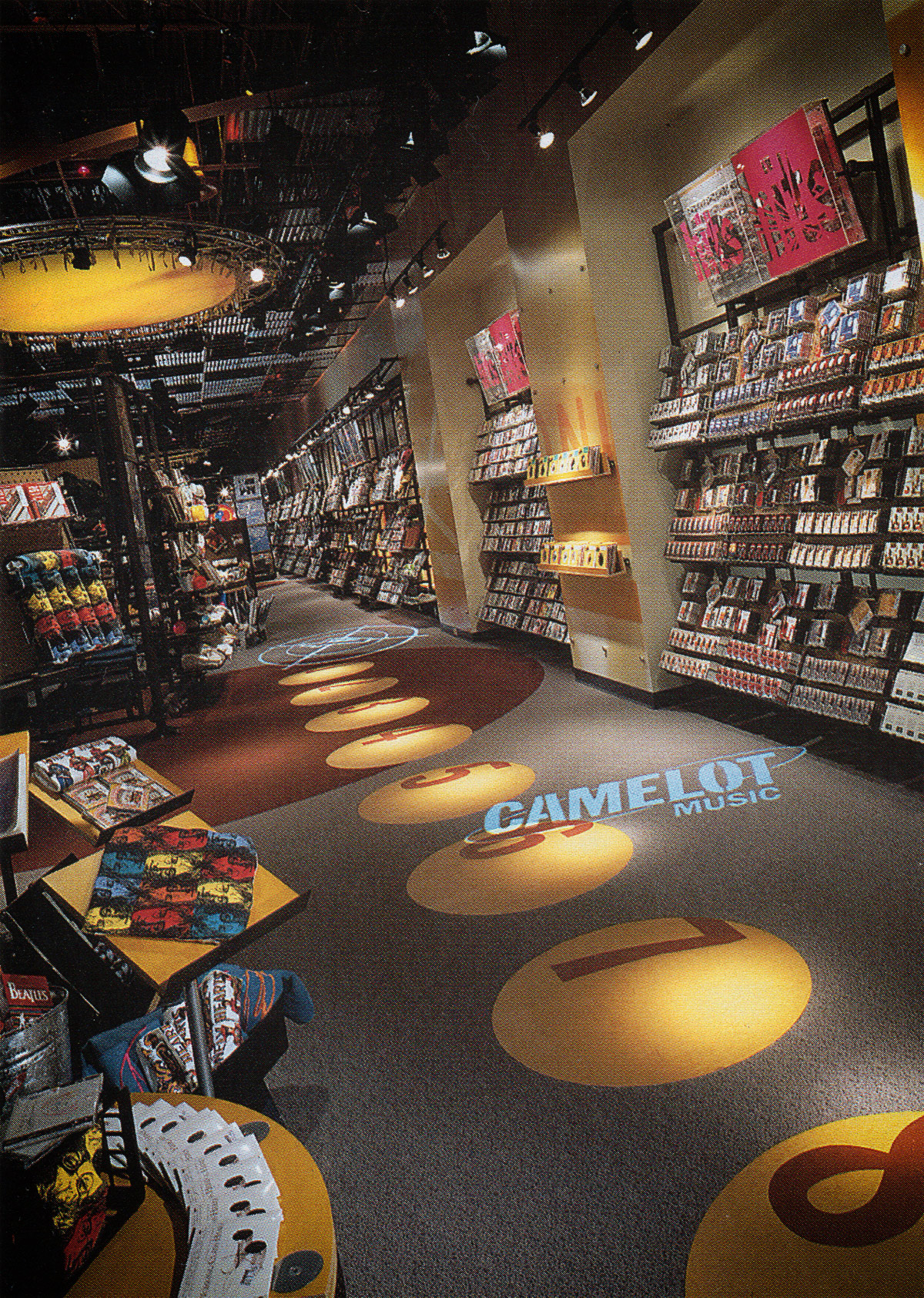 Store Showcase: Camelot Music, Great Lakes Mall, Mentor, Ohio