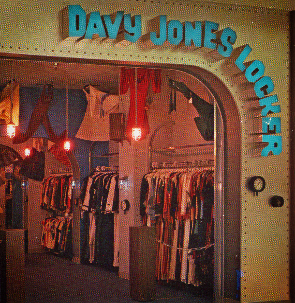 Davy Jones Locker Storefront