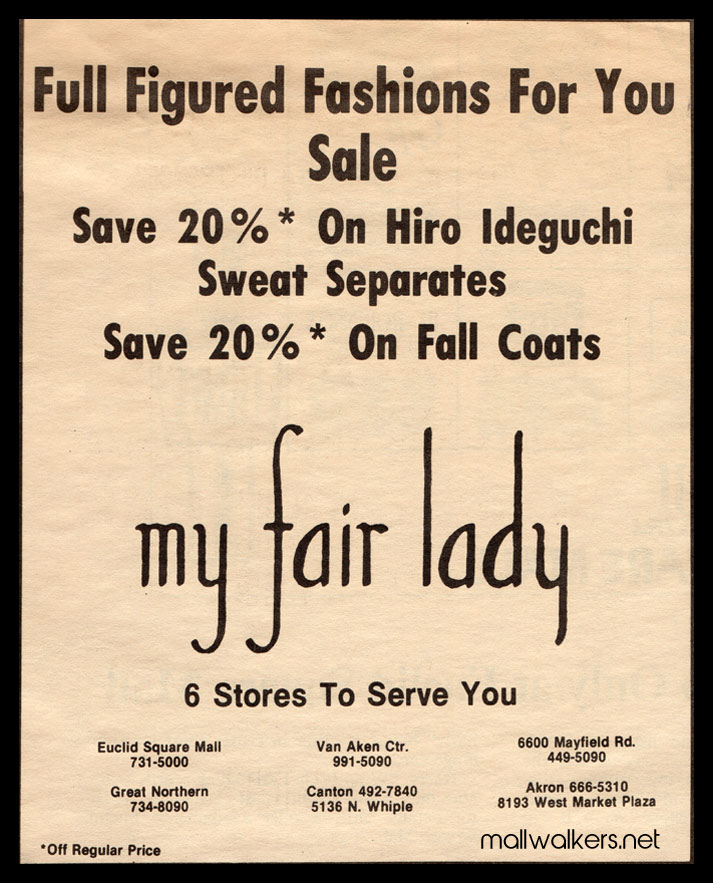 Euclid Square Mall - My Fair Lady