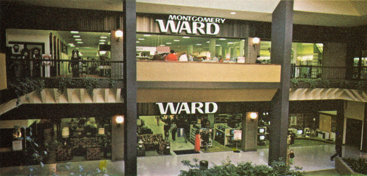 Montgomery Wards storefront