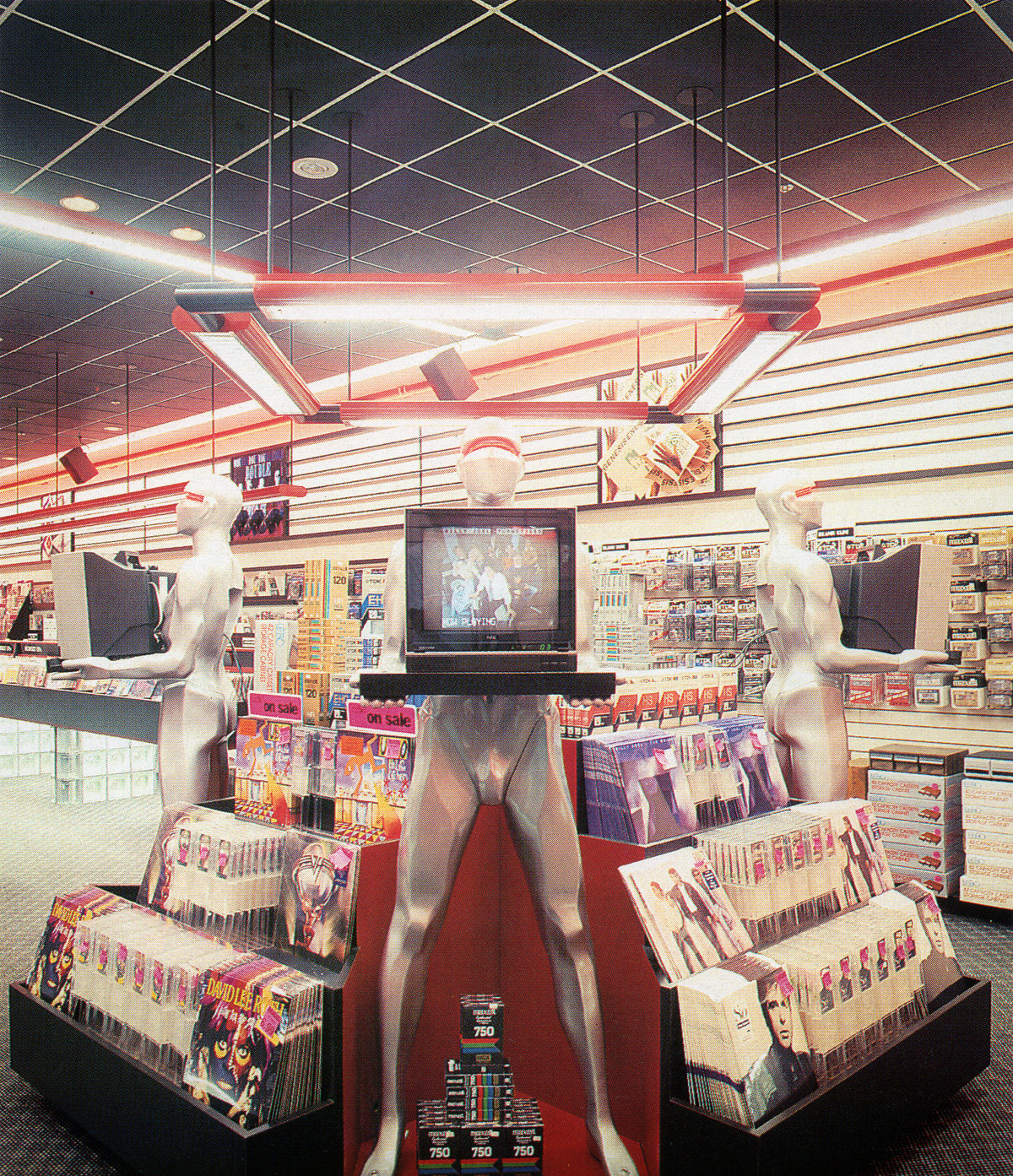 Store Showcase: Record World – Roosevelt Field Mall, Garden City, New York