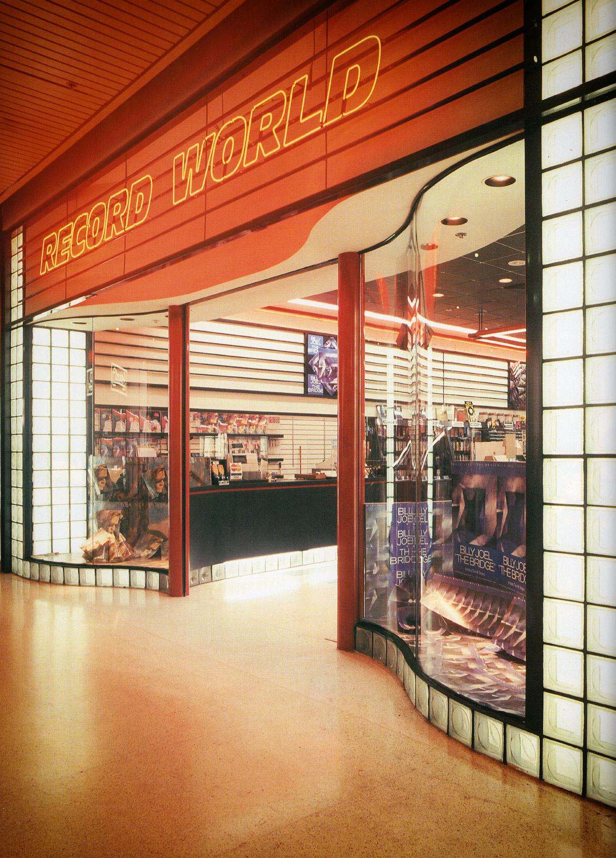 Record World Storefront