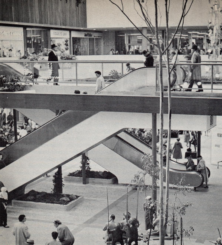 Southdale Center Escalator