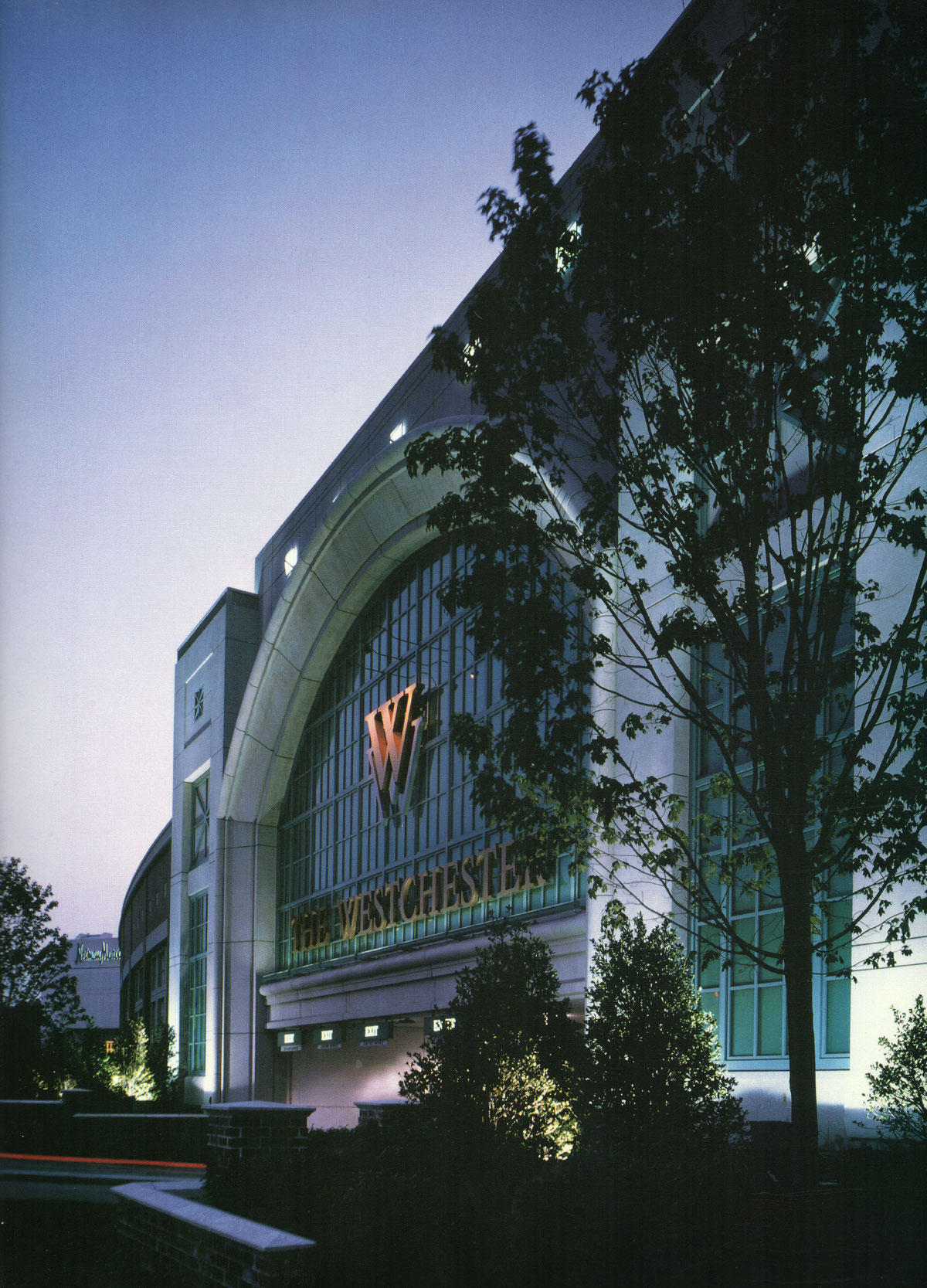 The Westchester Mall Entrance