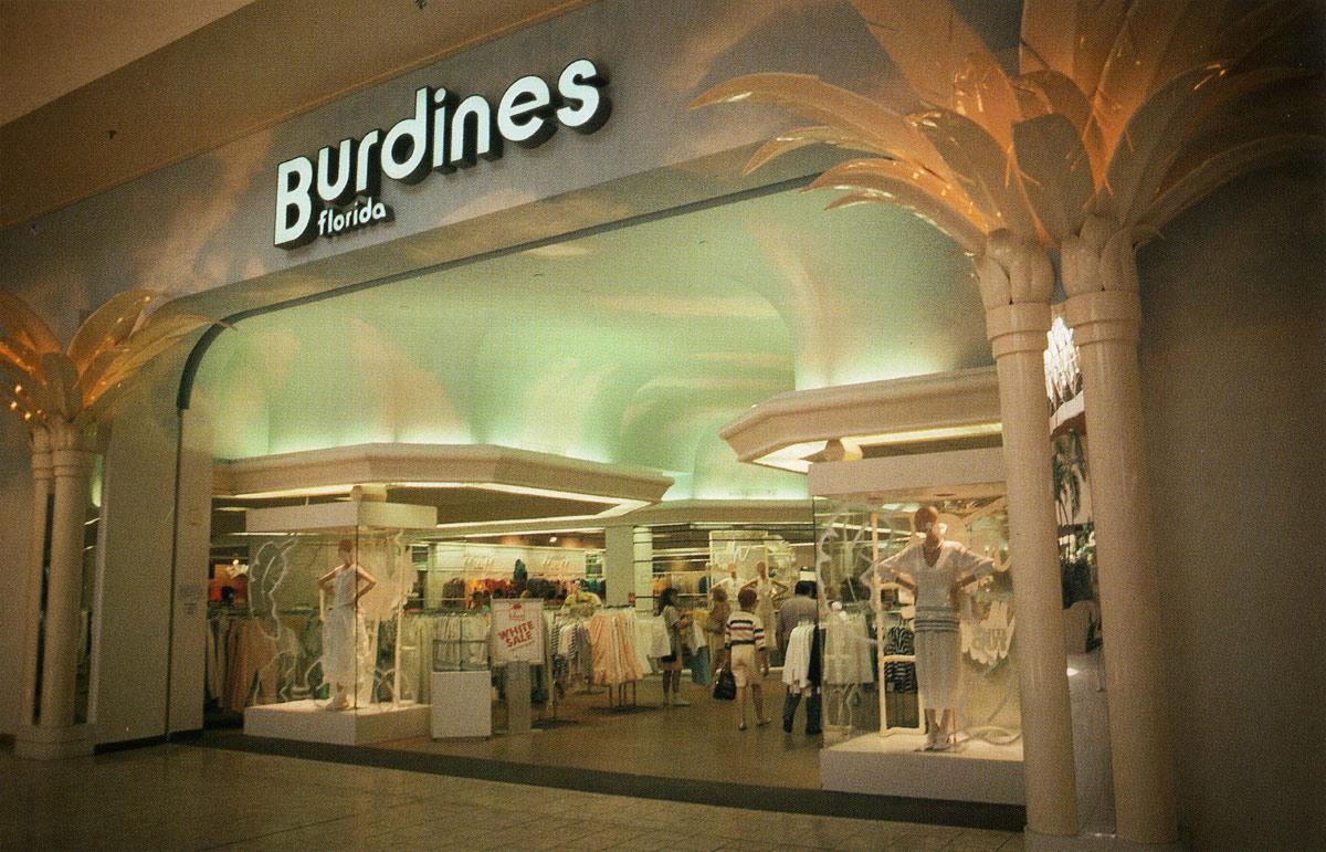 Burdines Florida Storefront