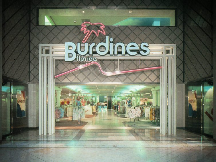 Store Showcase: Burdines Florida Department Store