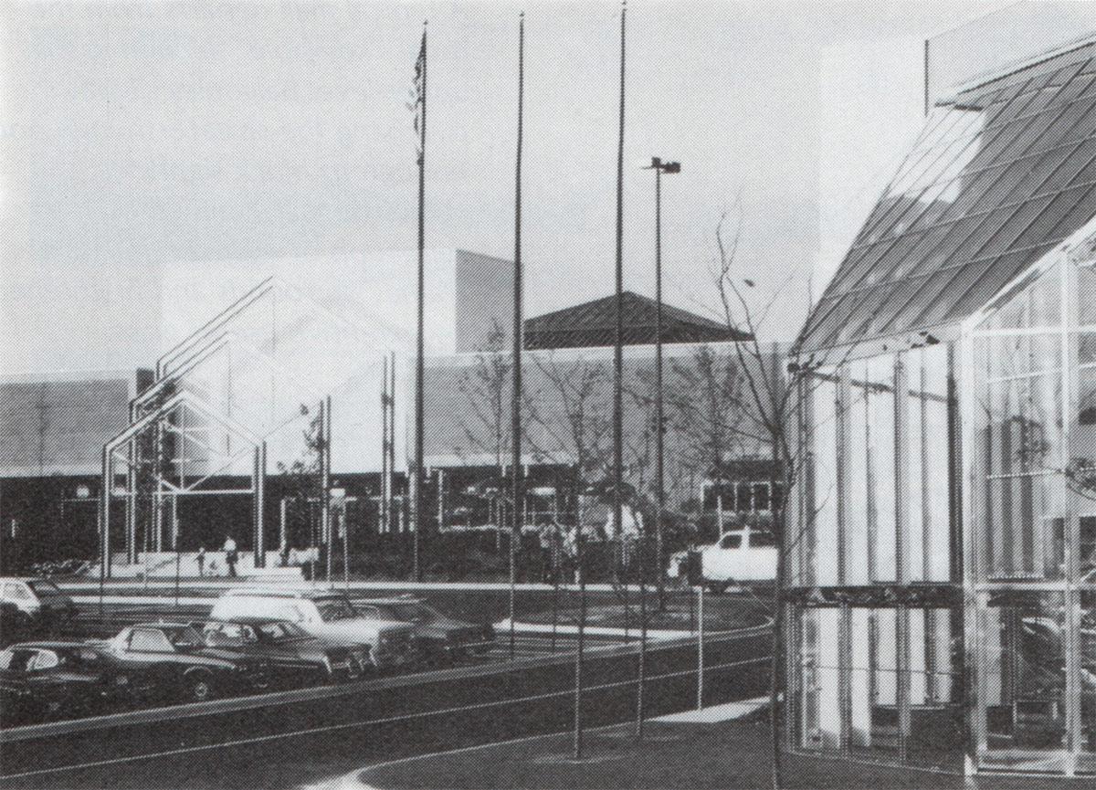 White Marsh Mall Exterior