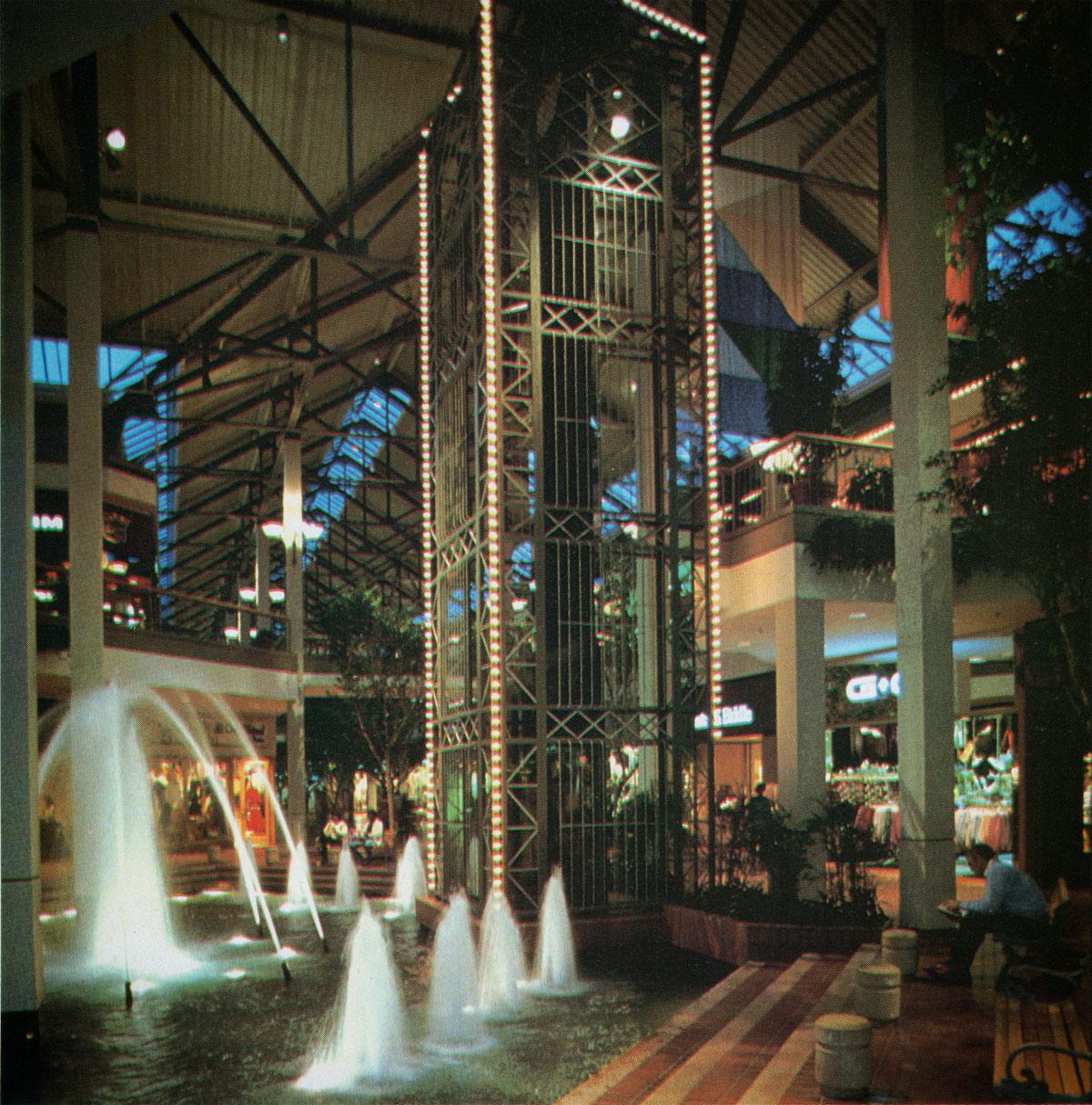 White Marsh Mall Elevator