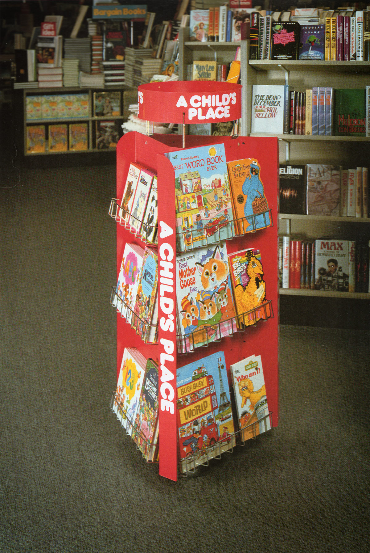 Waldenbooks In store children's book display