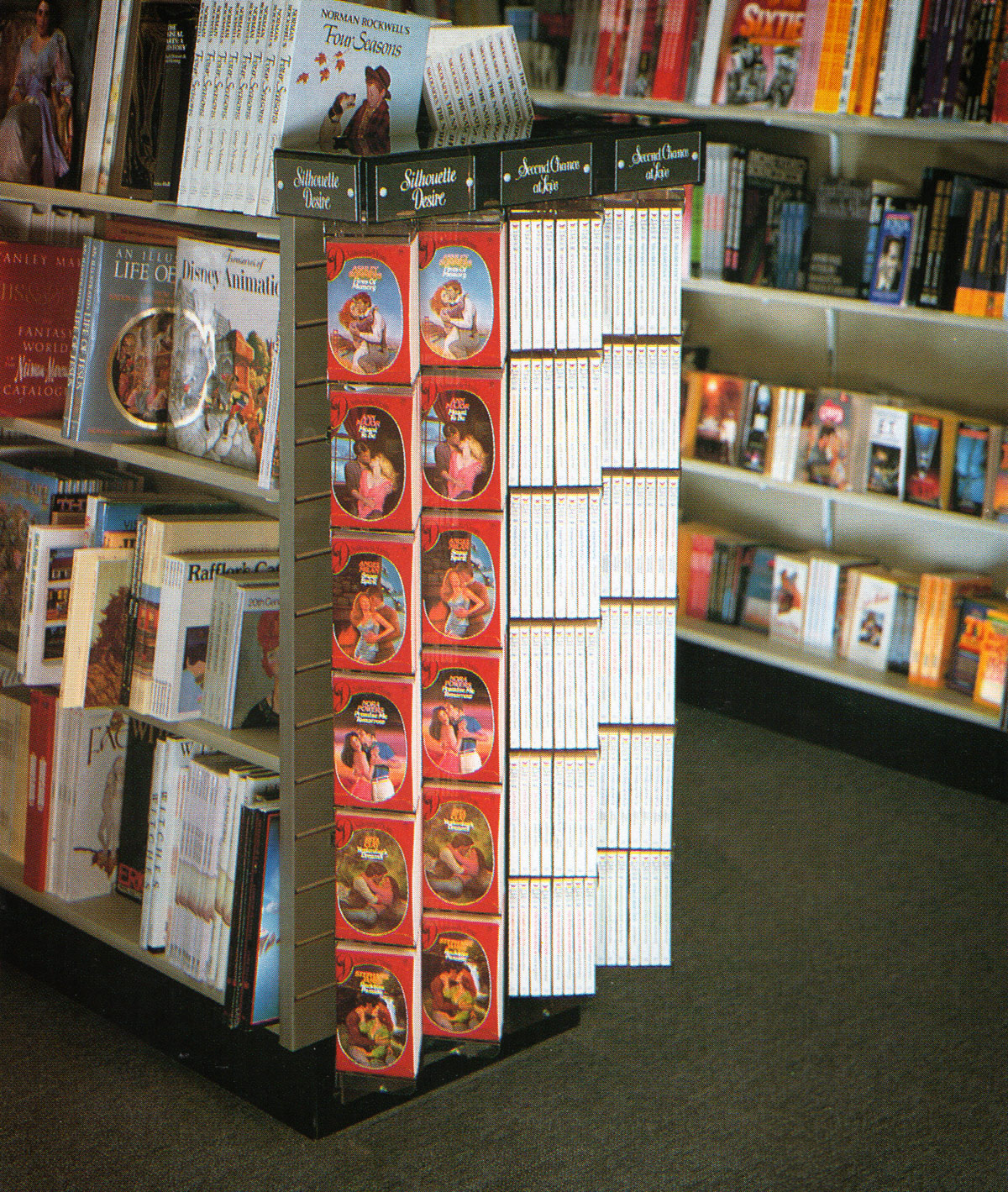 Waldenbooks store book display