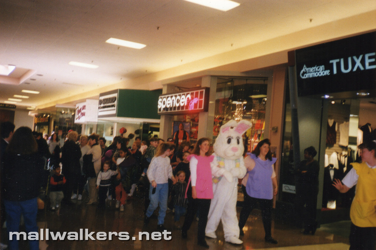 Easter Bunny Rolling Acres Mall Akron Ohio