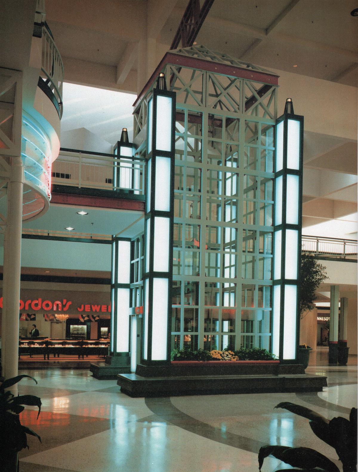 Elevator Eden Prairie Mall