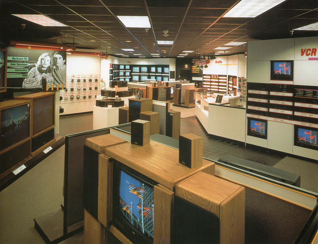 Video Concepts Store Layout
