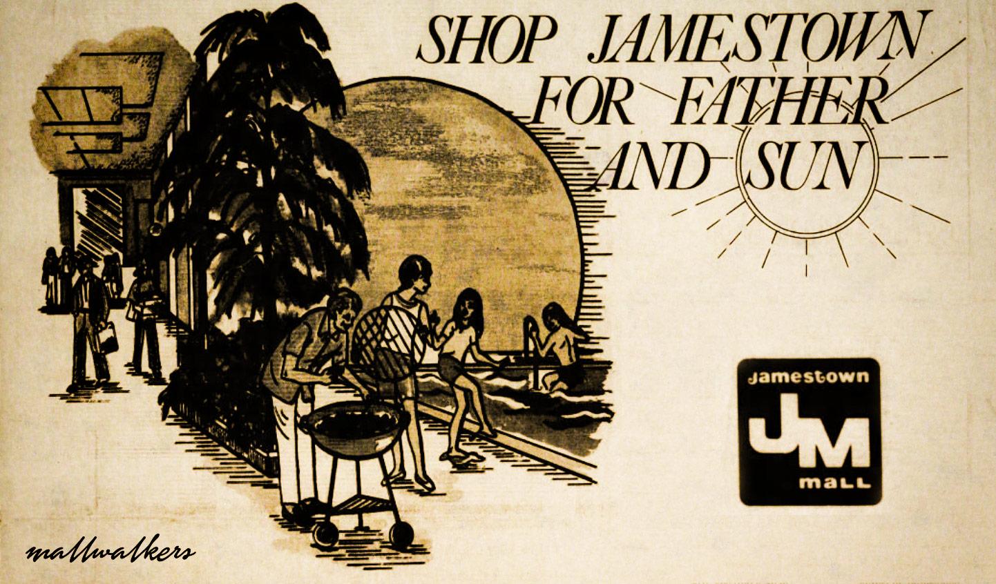 Jamestown Mall Advertisement