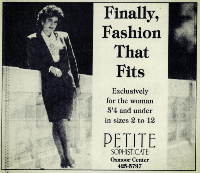 Petite Sophisticate Ad