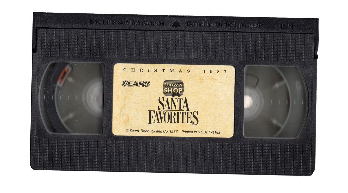 Sears Video Wishbook VHS