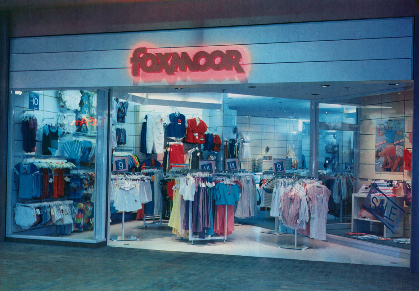 Foxmoor Storefront at Arsenal Mall - Storefronts & Facades 1986