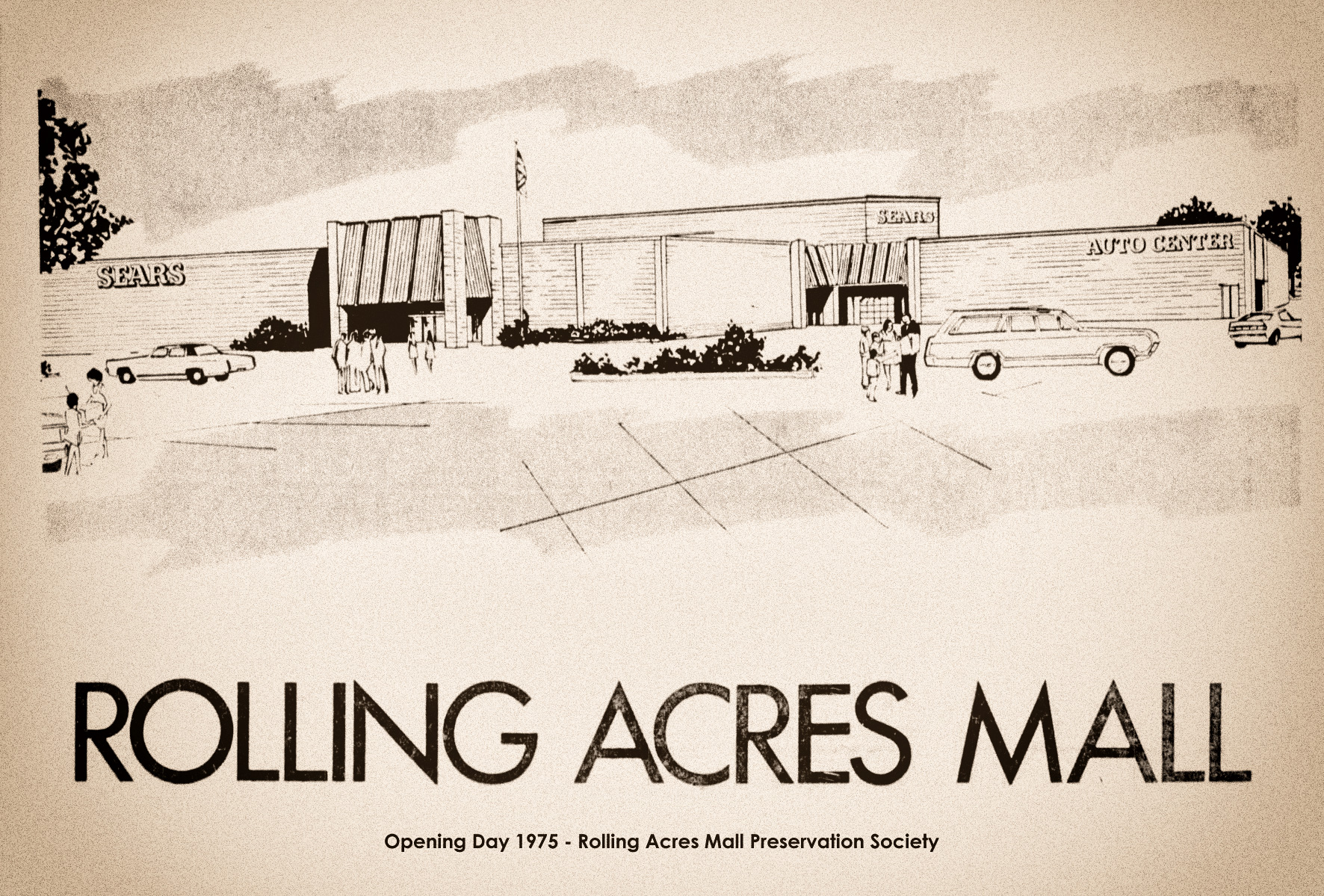 Rolling Acres Mall Grand Opening