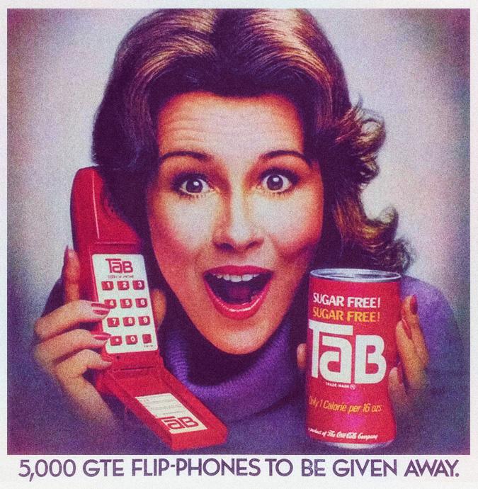 TAB Cola GTE Phone Giveaway