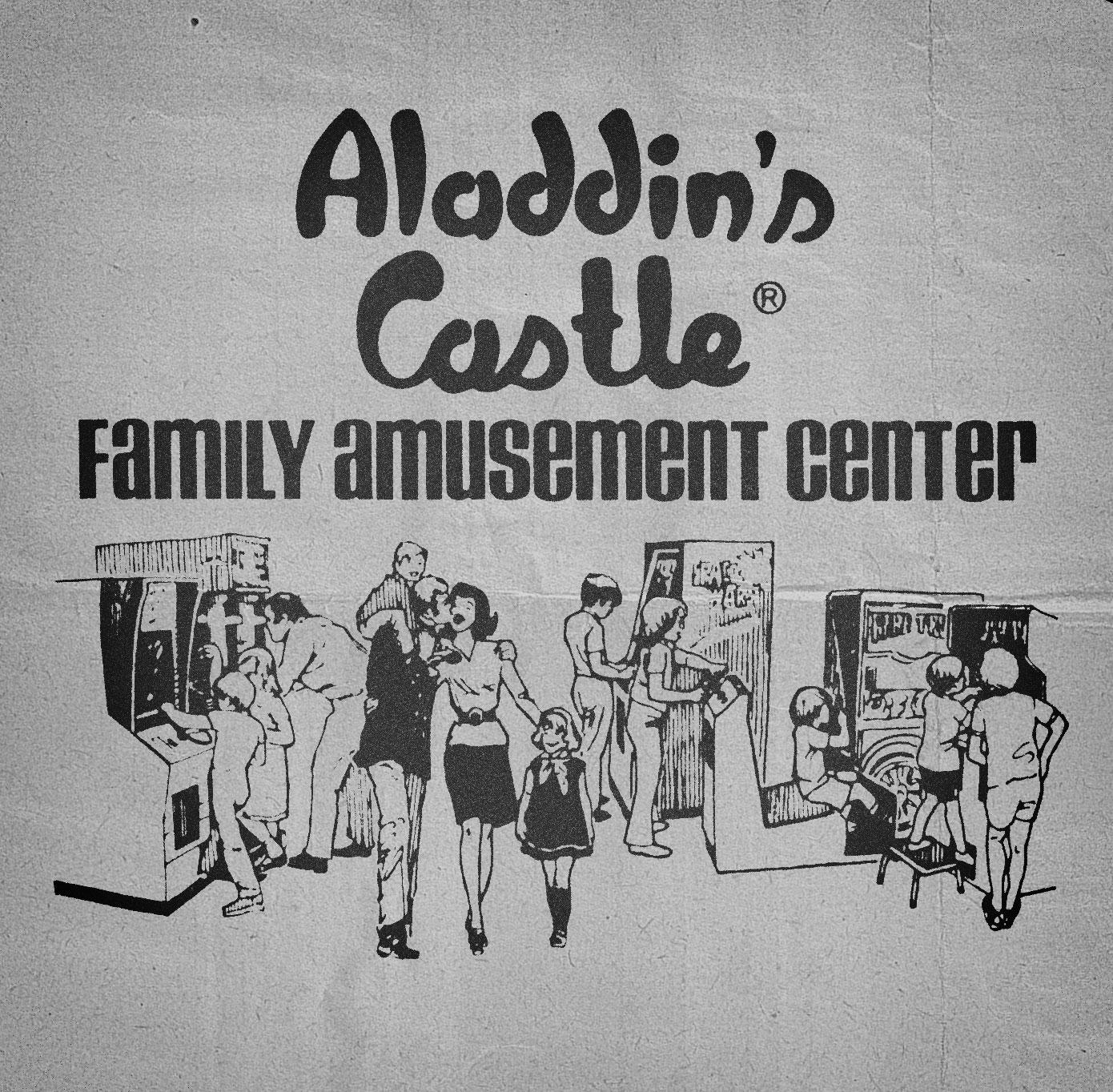 Aladdins Castle Ad