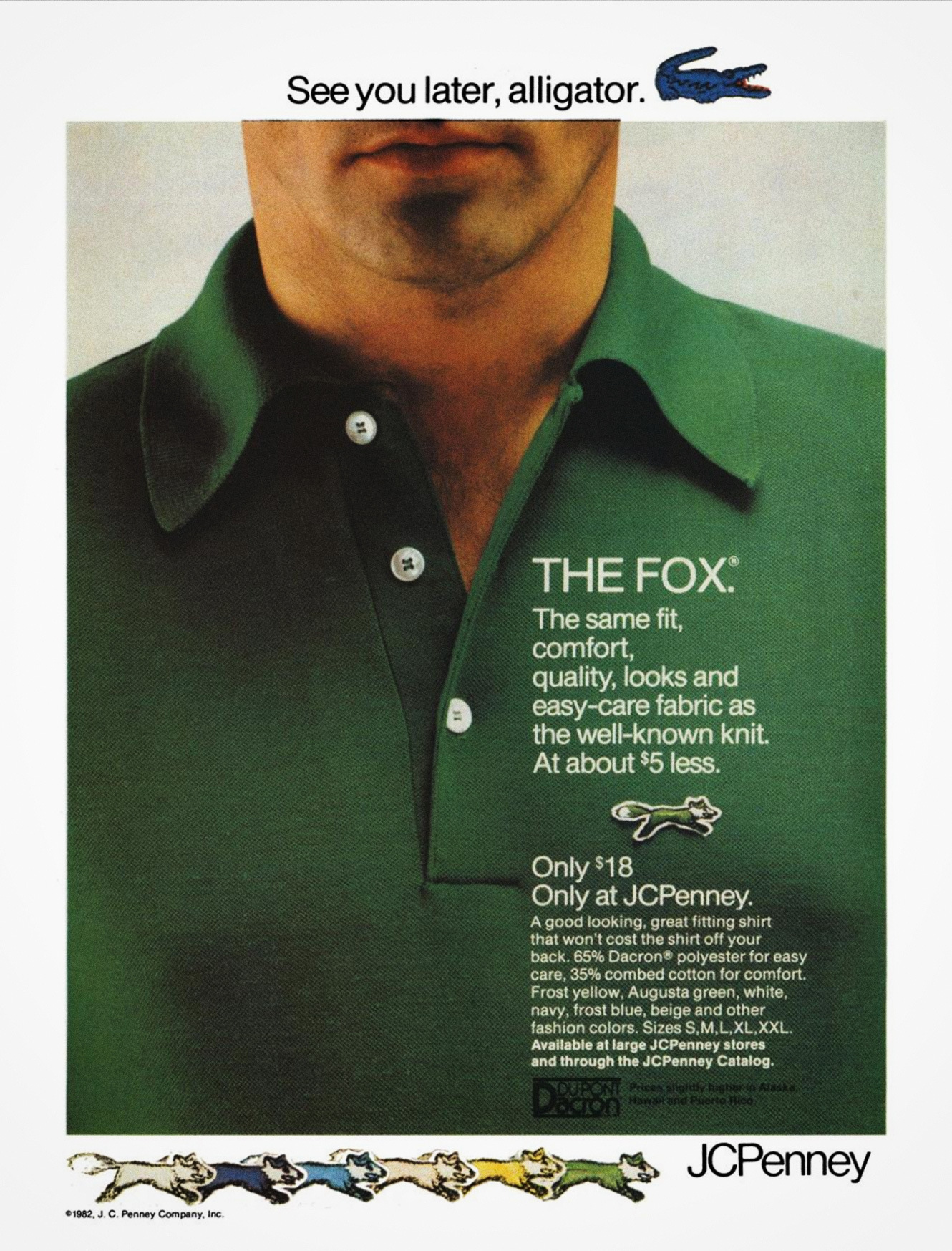 The Fox Shirt by JCPenney 1982