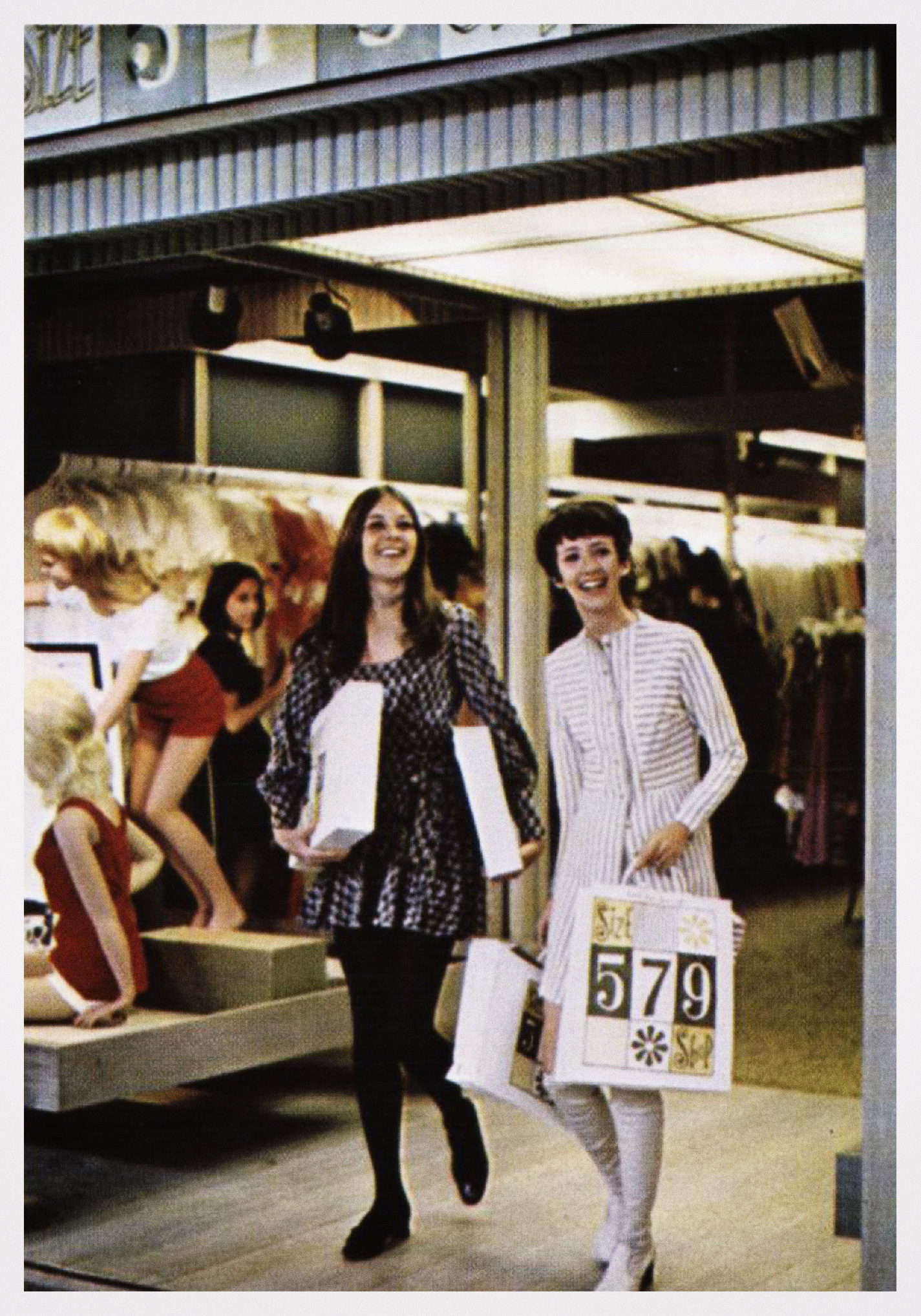Shopping at 5-7-9 in the 70s