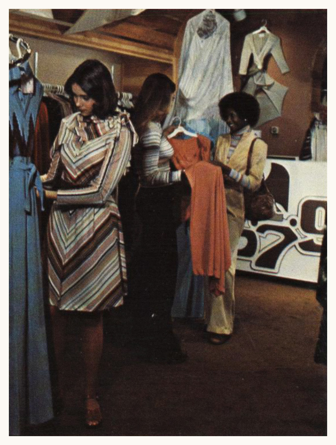 579 shopping at the mall in the 70s
