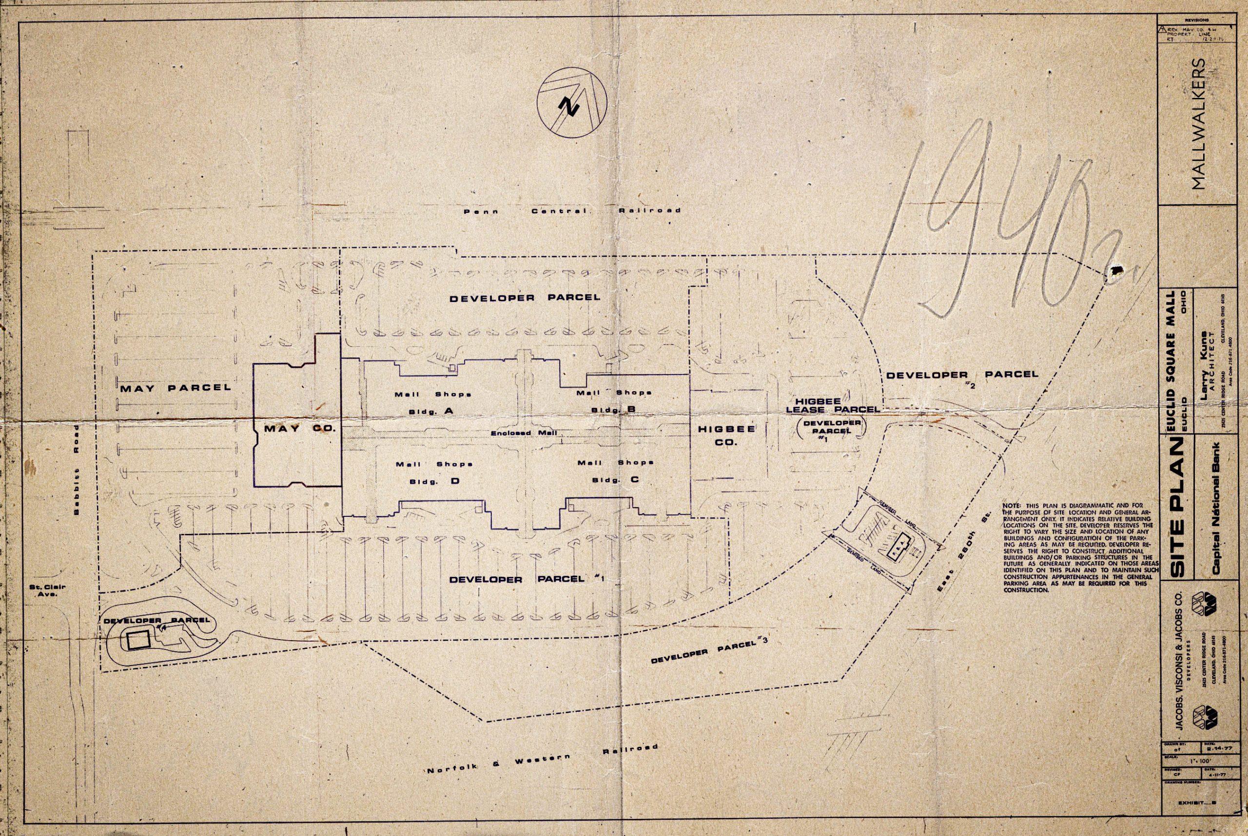 Euclid Square Mall Blueprint