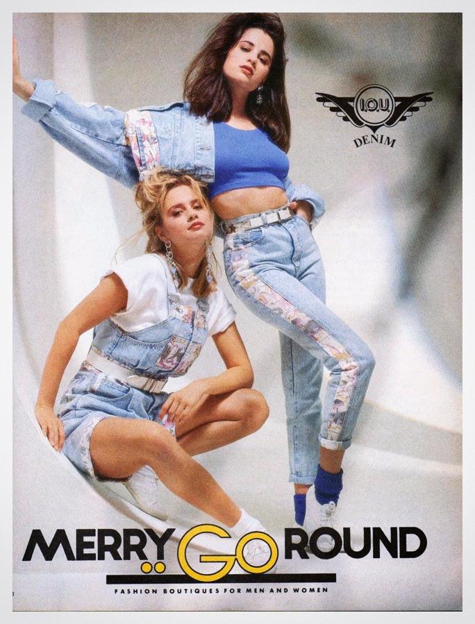 IOU denim from Merry Go Round