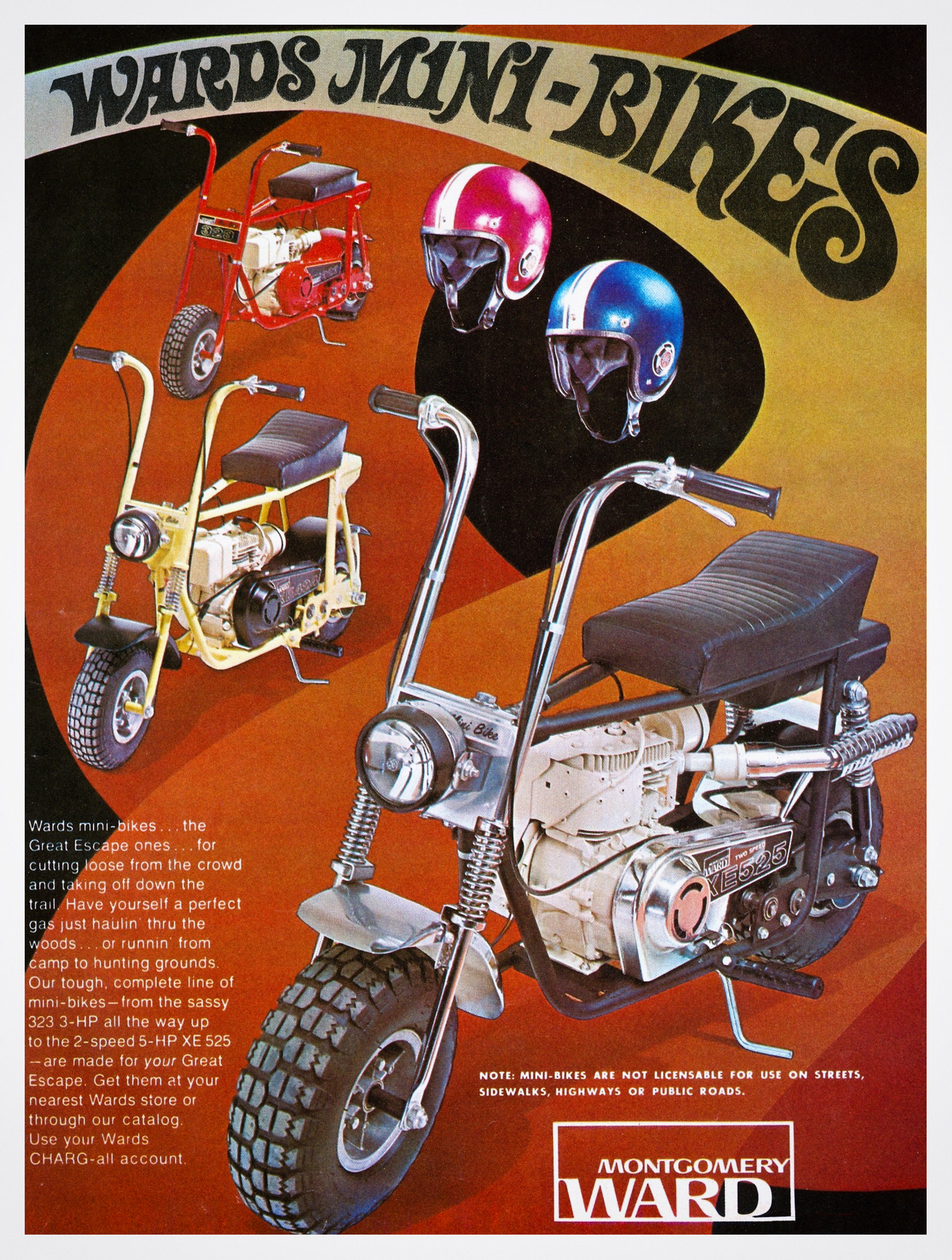 Montgomery Ward Mini Bikes