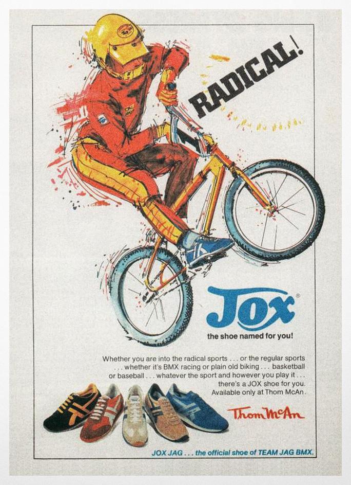 JOX BMX ad