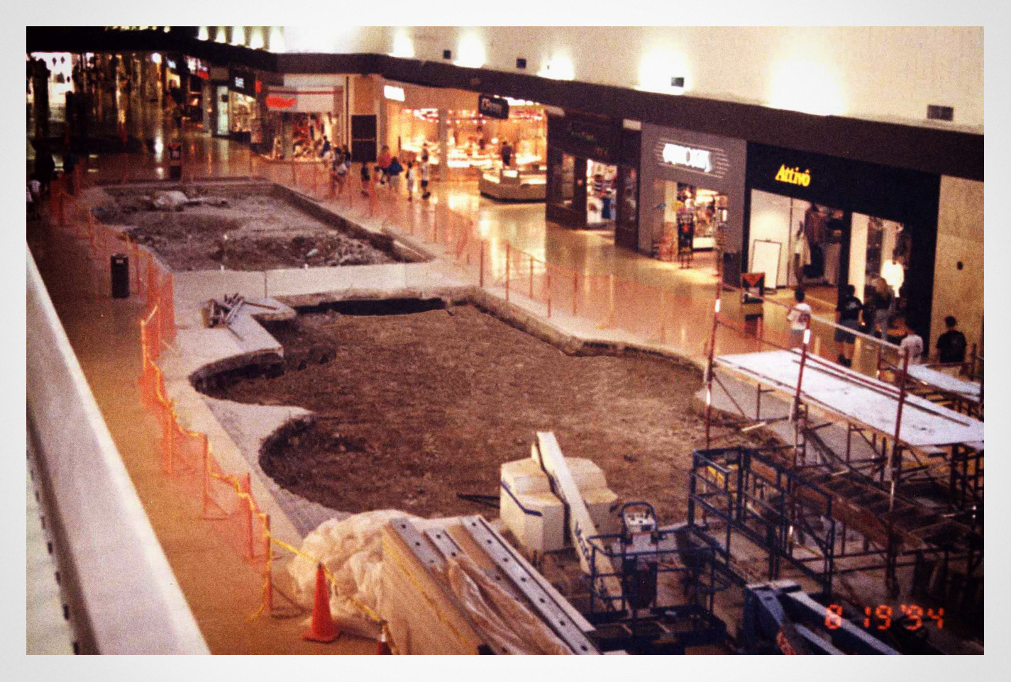 Removal of Eastwood Mall fountains