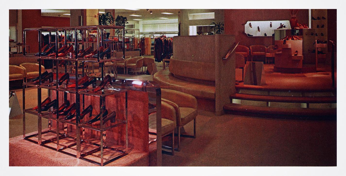 Higbee's Footwear department