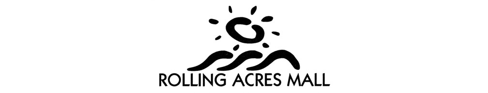 Rolling Acres Mall header logo