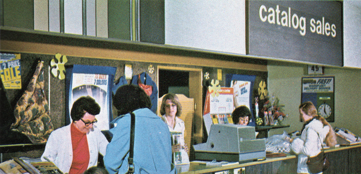 Ventas de catálogo de sala de Montgomery