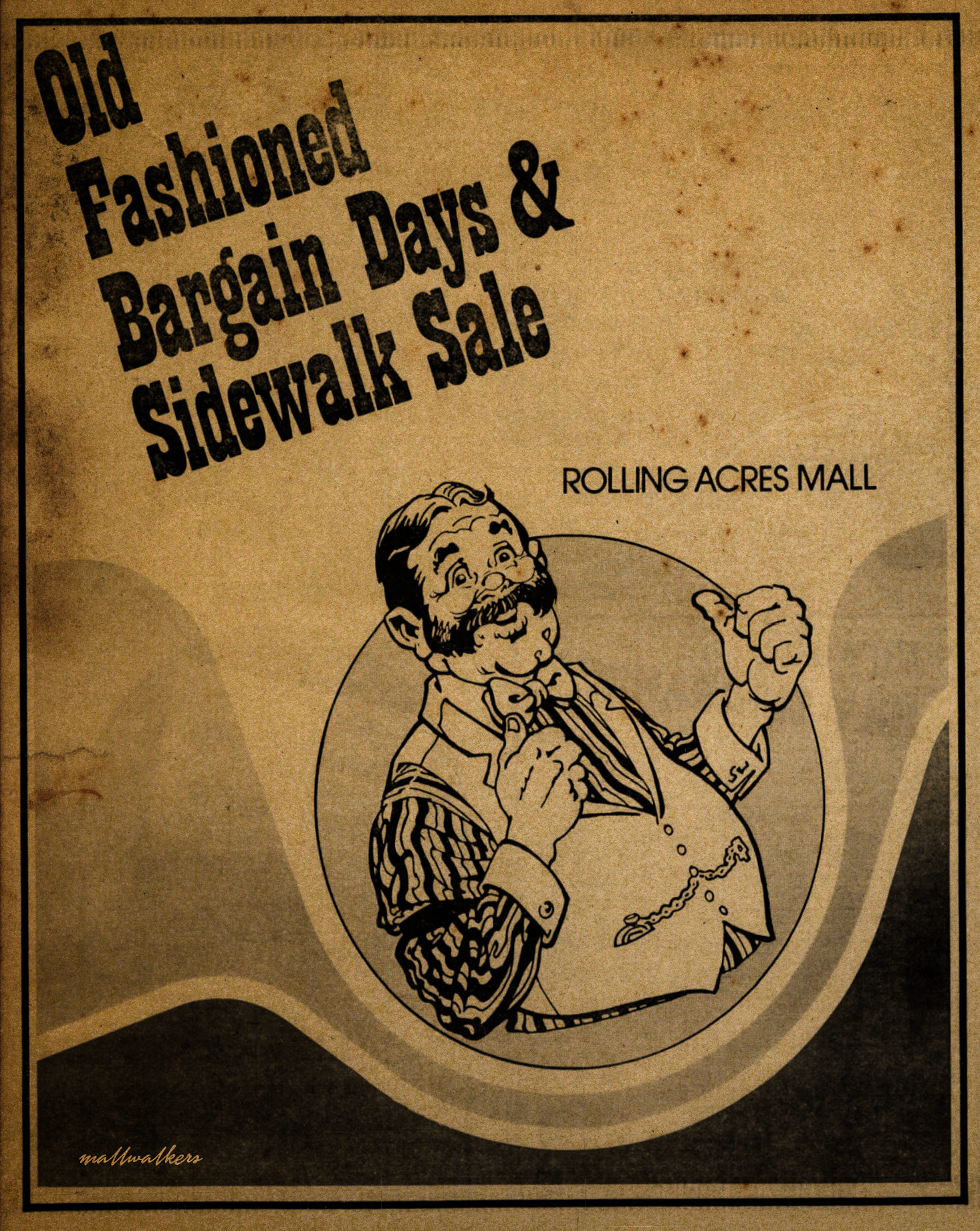 Rolling Acres Mall Advertisement