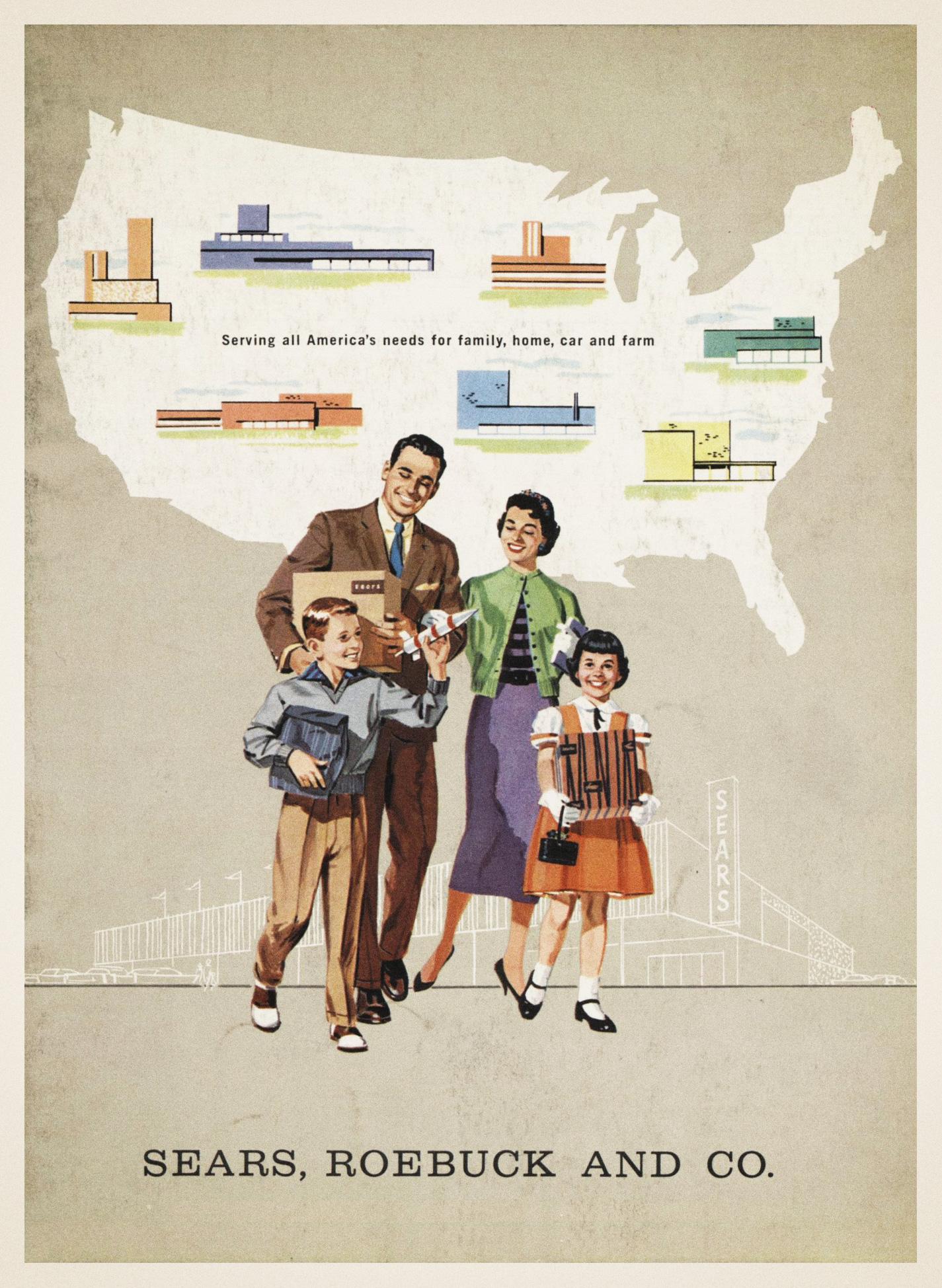 Sears advertisiement 1957