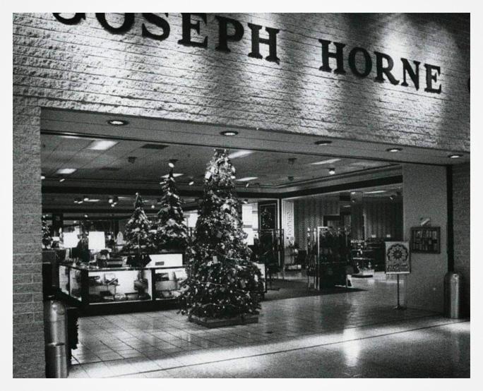 Joseph Horne storefront