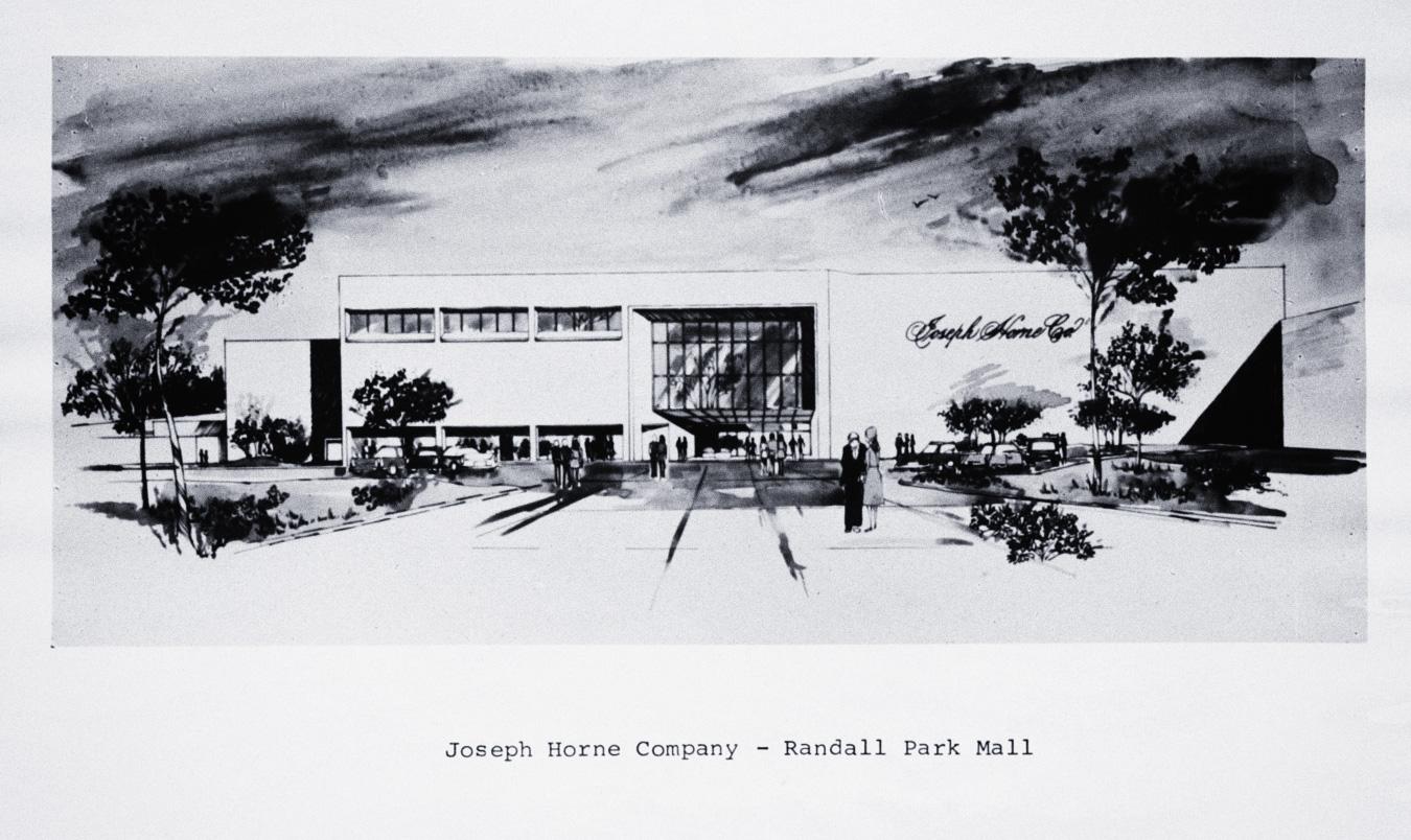 Joseph Horne Company Randall Park Mall