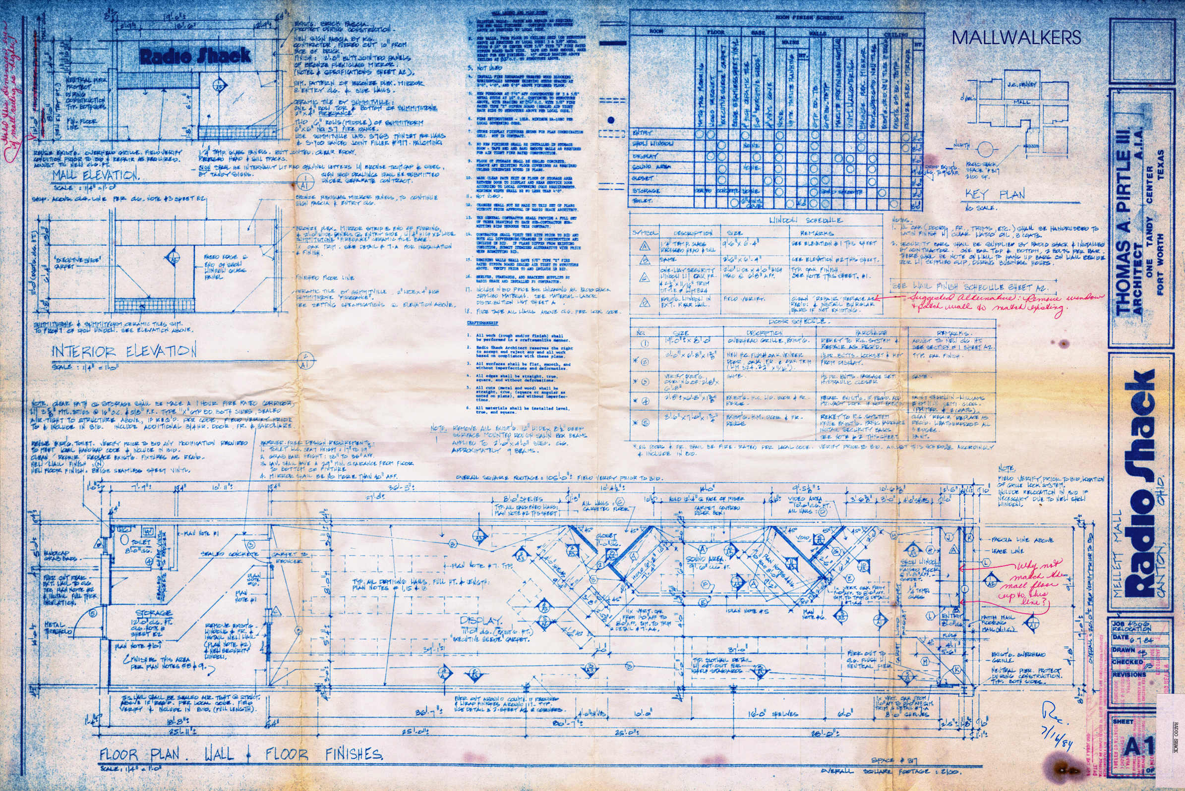 Radio Shack Blueprint